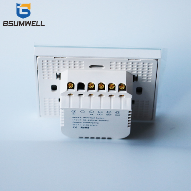 PS-86W02 Type WIFI Wall Switch