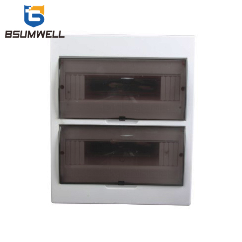 PS-TSM-S24ways 24ways IP50 Waterproof ABS Surface Type Distribution Box