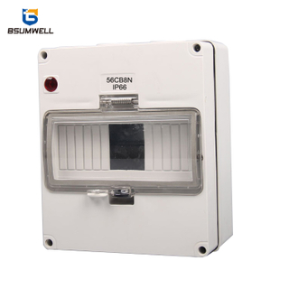 PS-56CB8N 8WAYS Solar MCB Plastic Distribution Box