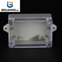 100*68*40mm IP67 Waterproof ABS PC Plastic Junction Box with Ear