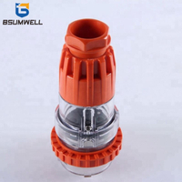 Australian Standard 56P432 500V 32A 32AMP 4 holes IP67 Industrial Power Waterproof Electrical Plugs