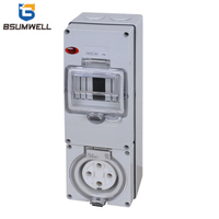PS-56CV-E3 IP65 Combination Switch Socket