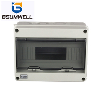 PS-HT-12 12ways Waterproof Electrical Power Distribution Box