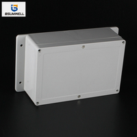 230*150*87mm IP67 Waterproof ABS PC Plastic Junction Box with Ear