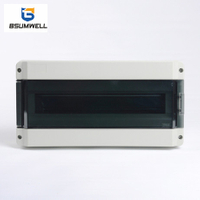 HK-18ways 18ways Waterproof Plastic Electrical Distribution Box