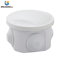 80*50mm ABS PVC Distribution Box/Plastic Waterproof Electrical Junction Box
