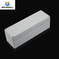 PS-AL250806 250*80*65mm IP67 Aluminum Die Cast Junction Box