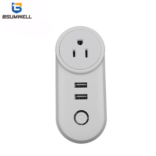 PS178 Smart socket (1 US,UE,UK type AC outputs+2 USB outputs) Work with Alexa