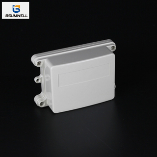 125*100*52mm IP67 Waterproof ABS PC Plastic Junction Box with Ear