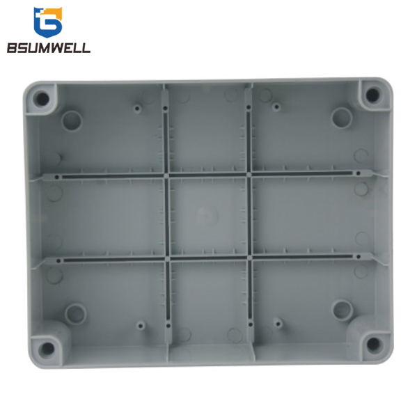 240*190*90mm ABS PC Plastic Waterproof Electrical Junction Box