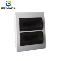 TSM-24ways Flush Type Waterproof Plastic 24 Ways 24way Electrical Power Mcb Distribution Box