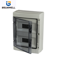 PS-HA-24ways Plastic Waterproof Distribution Box