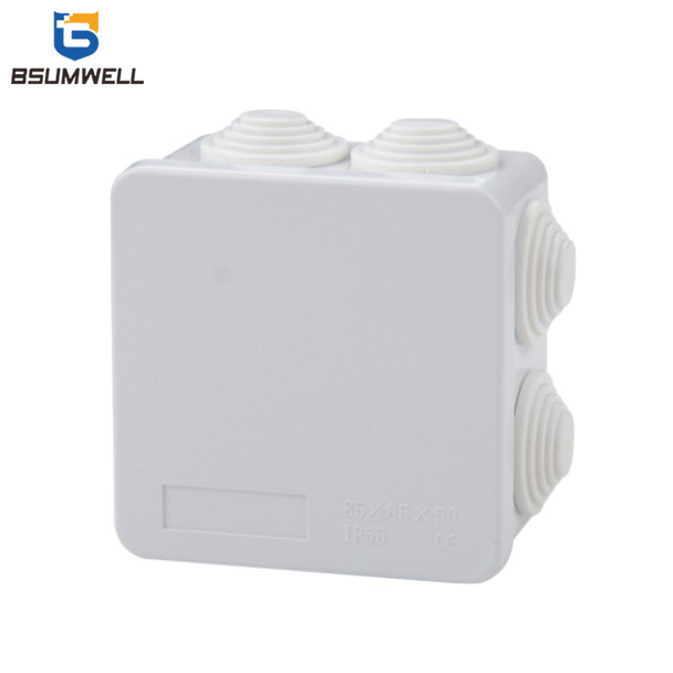PS-RA Series IP55 IP65 Waterproof PVC Junction Box with Rubber Glands