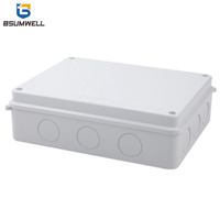 255*200*80mm ABS PC Plastic Waterproof Electrical Junction Box