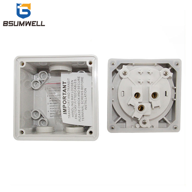 Australia Standard Three phase 56SO332 3 Round pin 250V 32A Electric waterproof industrial socket with CE Approval