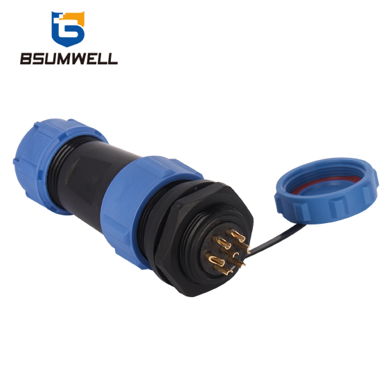PS17H Rear Mount Series Nylon PA66 IP68 Waterproof Connector