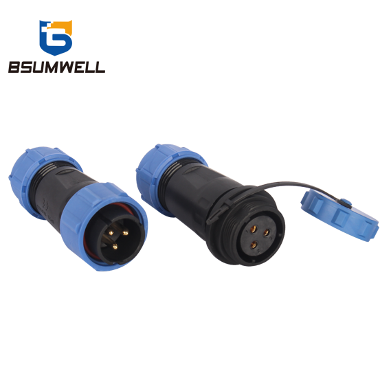 PS21D In-line Series 2pin To 12pin Ip68 Waterproof Aviation Connector