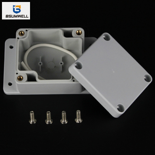 63*58*35mm IP67 Waterproof ABS PC Plastic Junction Box with Ear